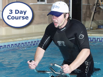 Three Day Combined Course (Water Fitness and Hydro Spin)